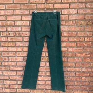 J. Crew Pants - 💚 NWT J Crew Green Trouser Cord